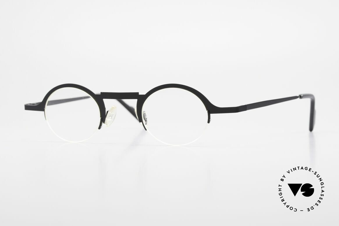 Theo Belgium Triptrio Round Designer Eyeglasses, Theo Belgium: the most self-willed brand in the world, Made for Men and Women