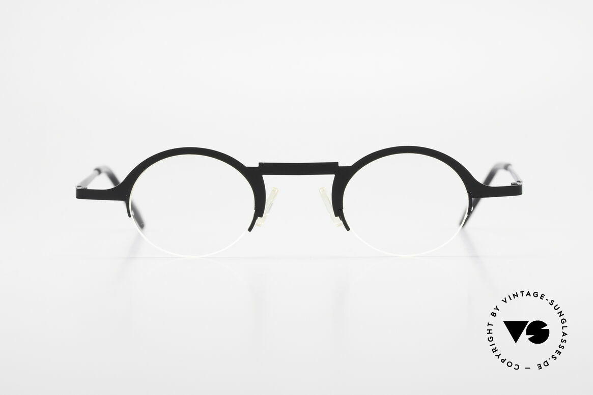 Theo Belgium Triptrio Round Designer Eyeglasses, founded in 1989 as 'opposite pole' to the 'mainstream', Made for Men and Women