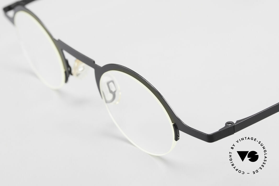 Theo Belgium Triptrio Round Designer Eyeglasses, unworn, one of a kind, THEO frame for all who dare ;), Made for Men and Women