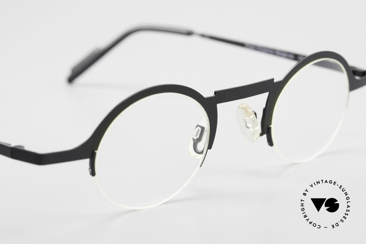Theo Belgium Triptrio Round Designer Eyeglasses, so to speak: VINTAGE glasses with representativeness, Made for Men and Women