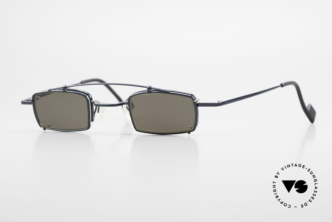 Theo Belgium Mele Square Clip On Designer Frame, Theo Belgium: the most self-willed brand in the world, Made for Men and Women