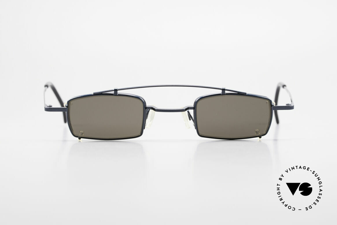 Theo Belgium Mele Square Clip On Designer Frame, founded in 1989 as 'opposite pole' to the 'mainstream', Made for Men and Women