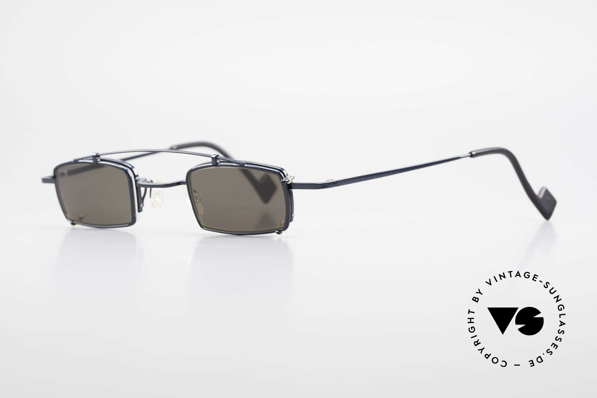 Theo Belgium Mele Square Clip On Designer Frame, made for the avant-garde, individualists, trend-setters, Made for Men and Women