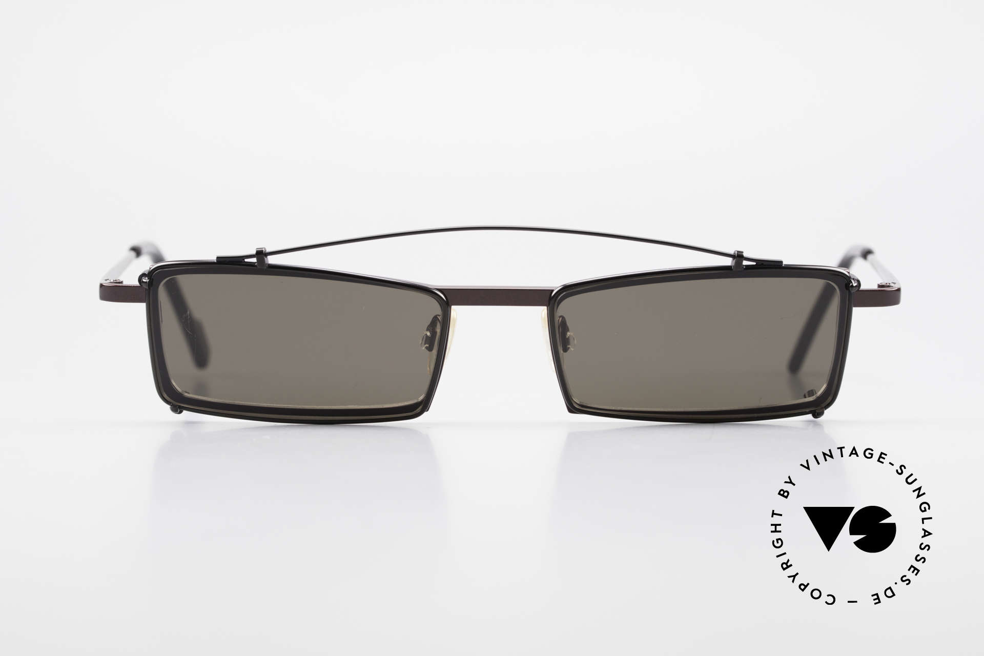 Theo Belgium XXM Clip On Designer Frame Square, founded in 1989 as 'opposite pole' to the 'mainstream', Made for Men and Women