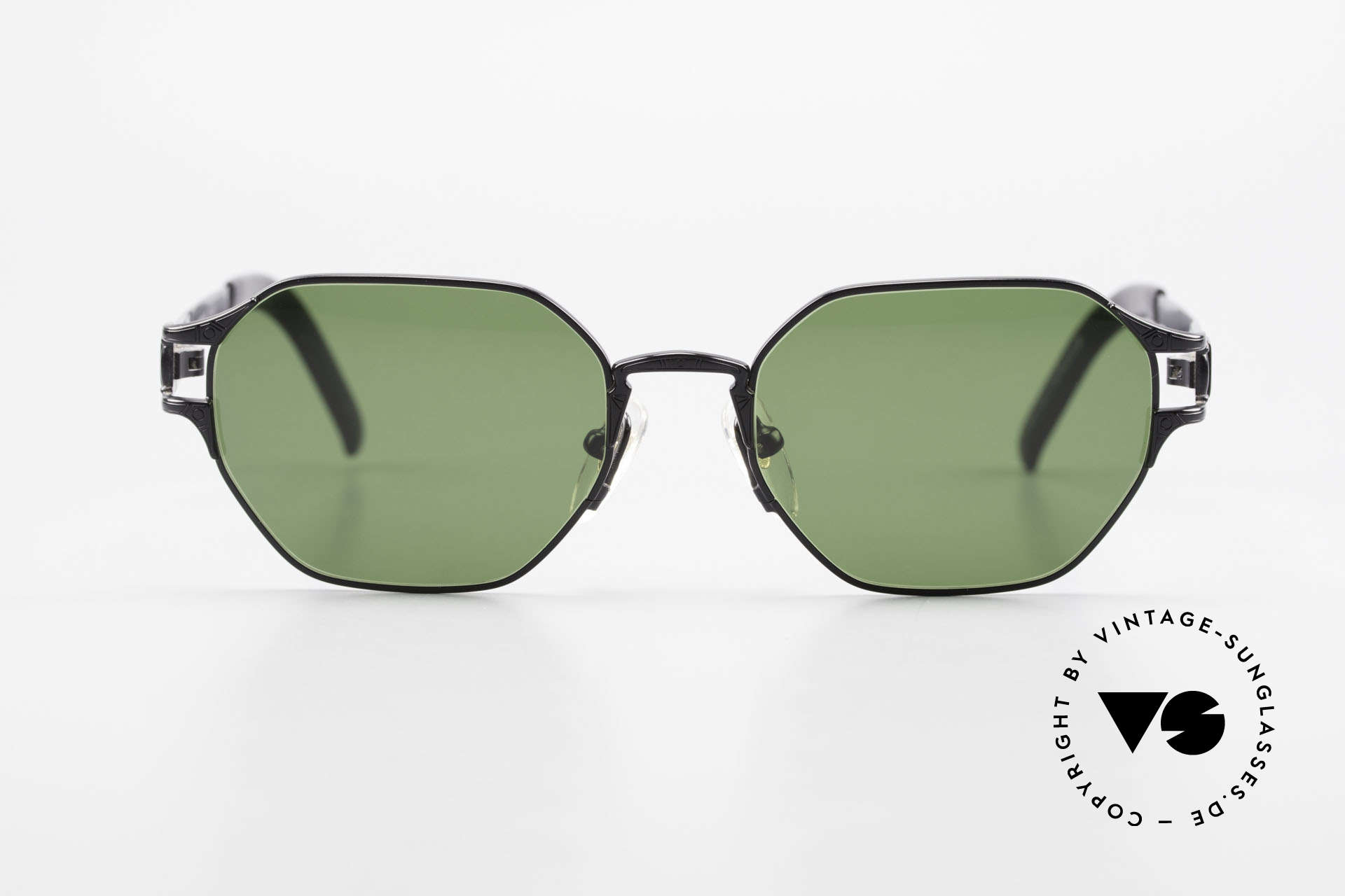 """Jean Paul Gaultier 58-4173 Square JPG 90's Designer Shades, with some subtle """"J.P.G."""" details on the frame, Made for Men and Women"""