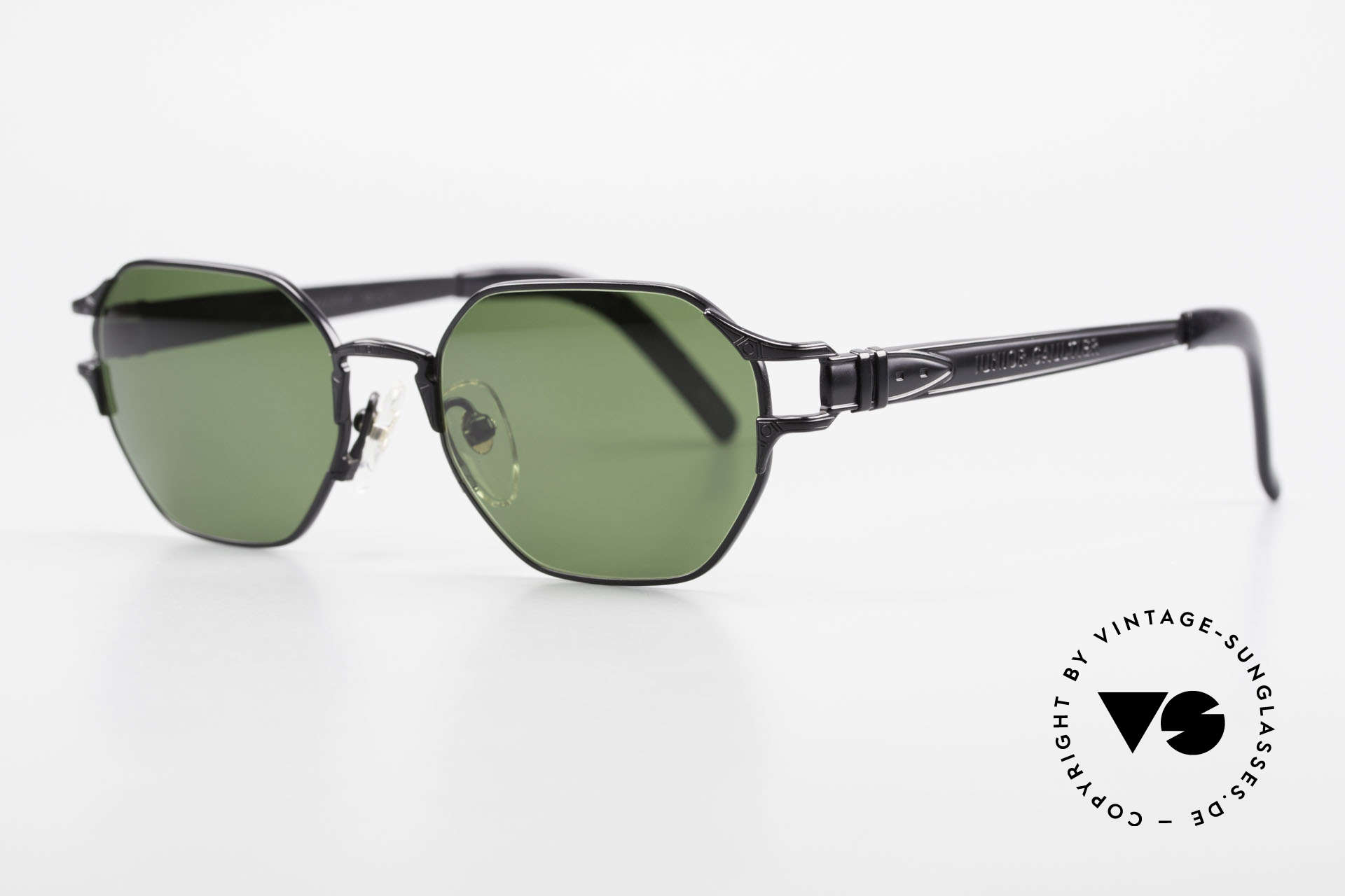 Jean Paul Gaultier 58-4173 Square JPG 90's Designer Shades, TOP craftsmanship (made in Japan, around '95), Made for Men and Women