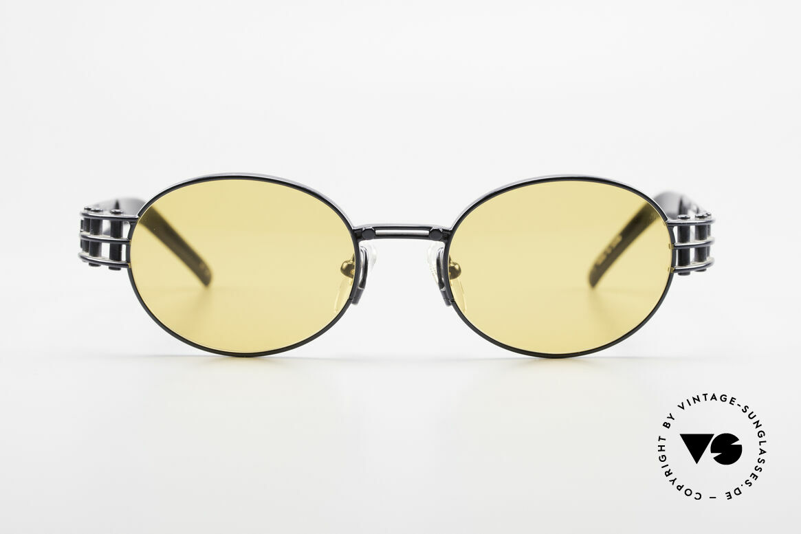 Yohji Yamamoto 52-6102 Industrial Oval Vintage Shades, interesting oval 1990's Yohji YAMAMOTO vintage shades, Made for Men and Women
