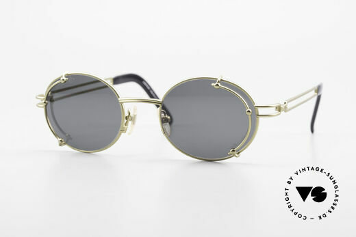 Yohji Yamamoto 52-4107 Oval 90's Designer Sunglasses Details
