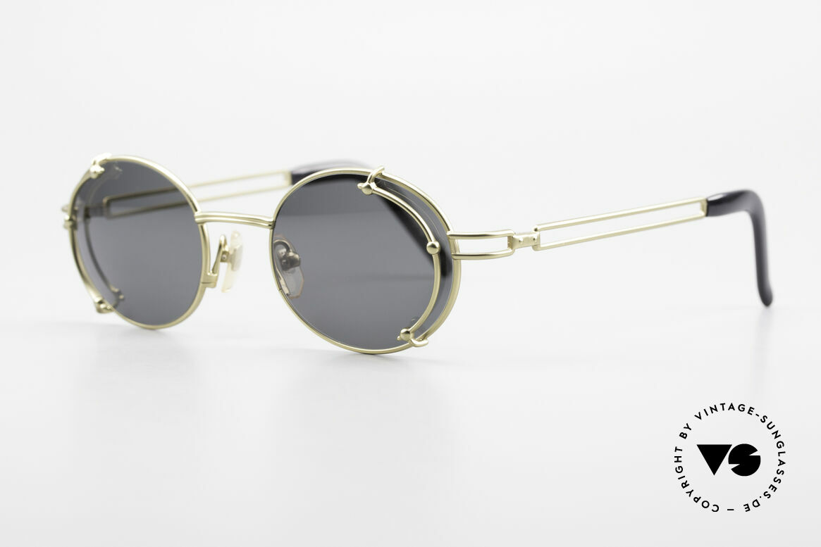 """Yohji Yamamoto 52-4107 Oval 90's Designer Sunglasses, a vintage """"must-have"""" for all lovers of quality and design, Made for Men and Women"""