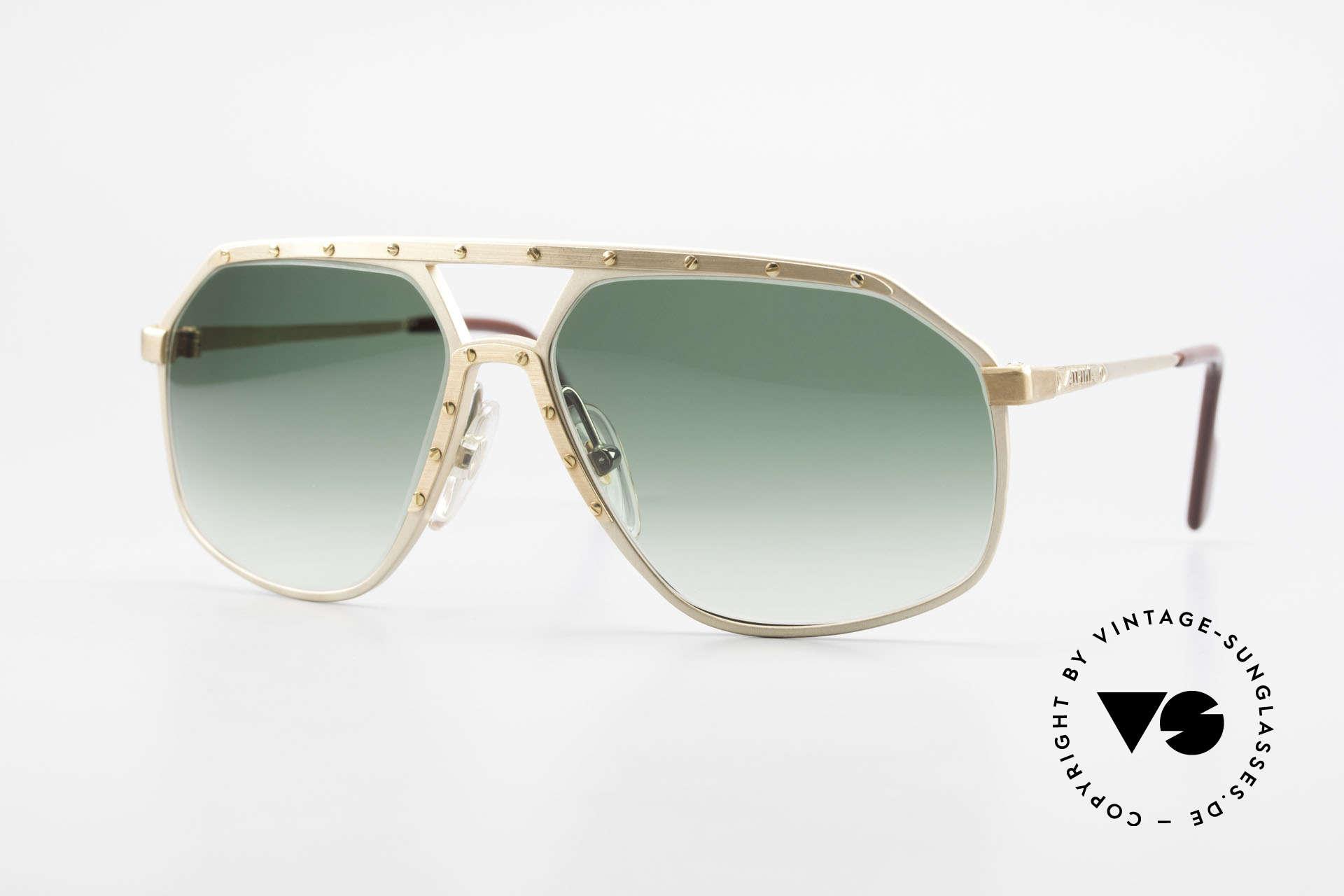 Alpina M6 Legendary 80's Sunglasses, legendary Alpina M6 vintage designer sunglasses, Made for Men