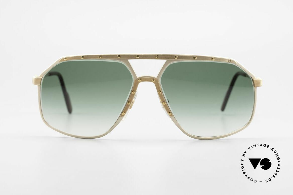 Alpina M6 Legendary 80's Sunglasses, a precious old 80's original in medium size 60-14, Made for Men
