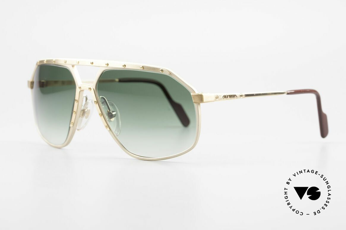Alpina M6 Legendary 80's Sunglasses, famous for the 'W.Germany' frame and the screws, Made for Men