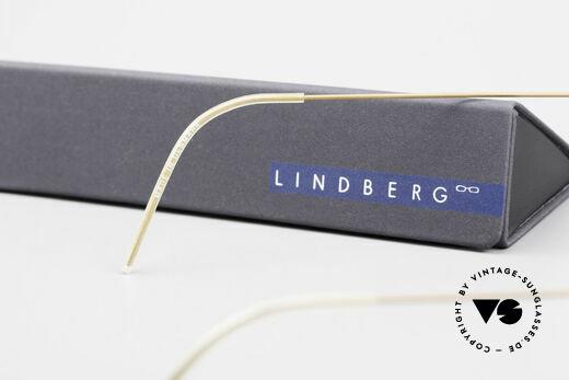 Lindberg Panto Air Titan Rim Titan Frame Acetate Inner Rim, Size: medium, Made for Men and Women