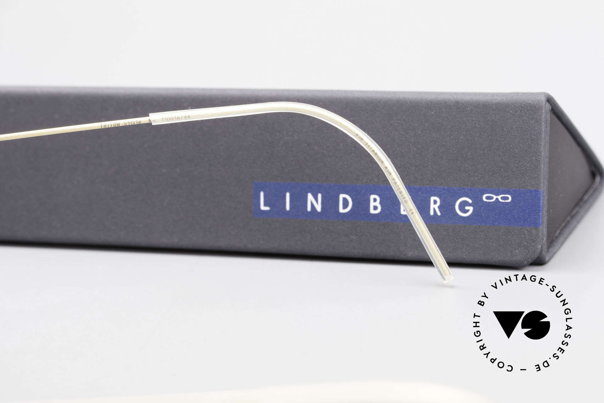 Lindberg Triton Air Titan Rim Titan Frame Acetate Inner Rim, Size: medium, Made for Men