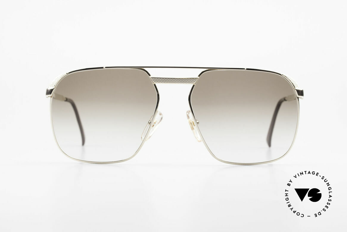Dunhill 6011 Gold Plated 80's Sunglasses, noble DUNHILL vintage 80's sunglasses for gentlemen, Made for Men