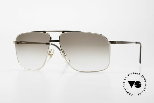 Dunhill 6126 Gold Plated 90's Sunglasses Details