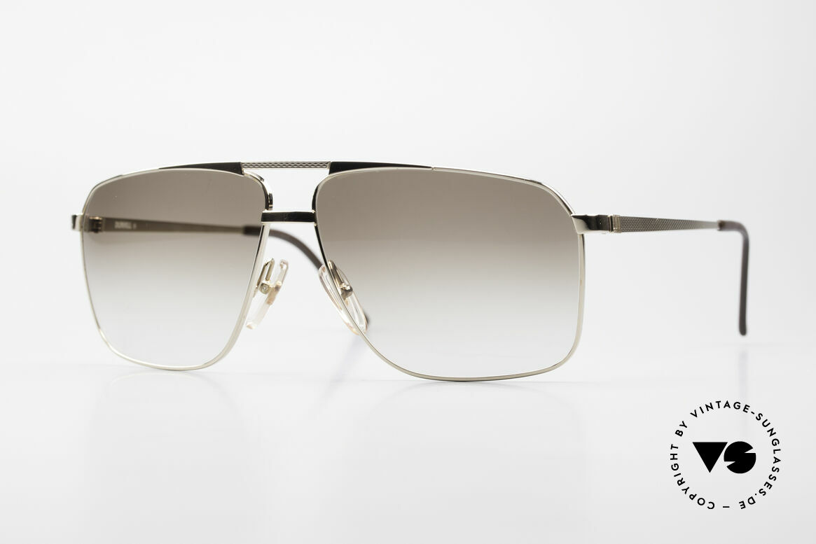 Dunhill 6126 Gold Plated 90's Sunglasses, masterpiece of style, quality, functionality and design, Made for Men