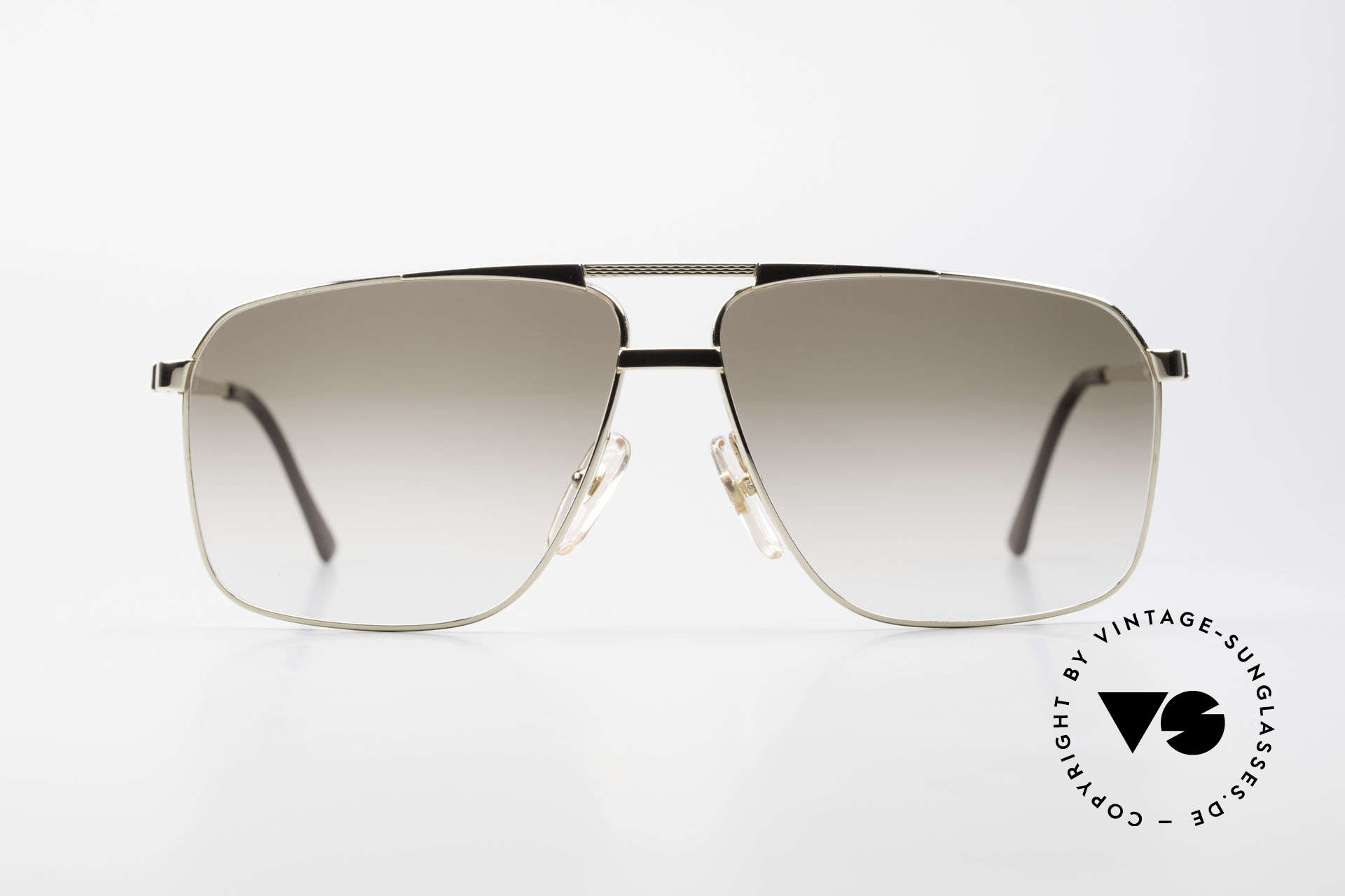 Dunhill 6126 Gold Plated 90's Sunglasses, noble DUNHILL vintage 90's sunglasses for gentlemen, Made for Men
