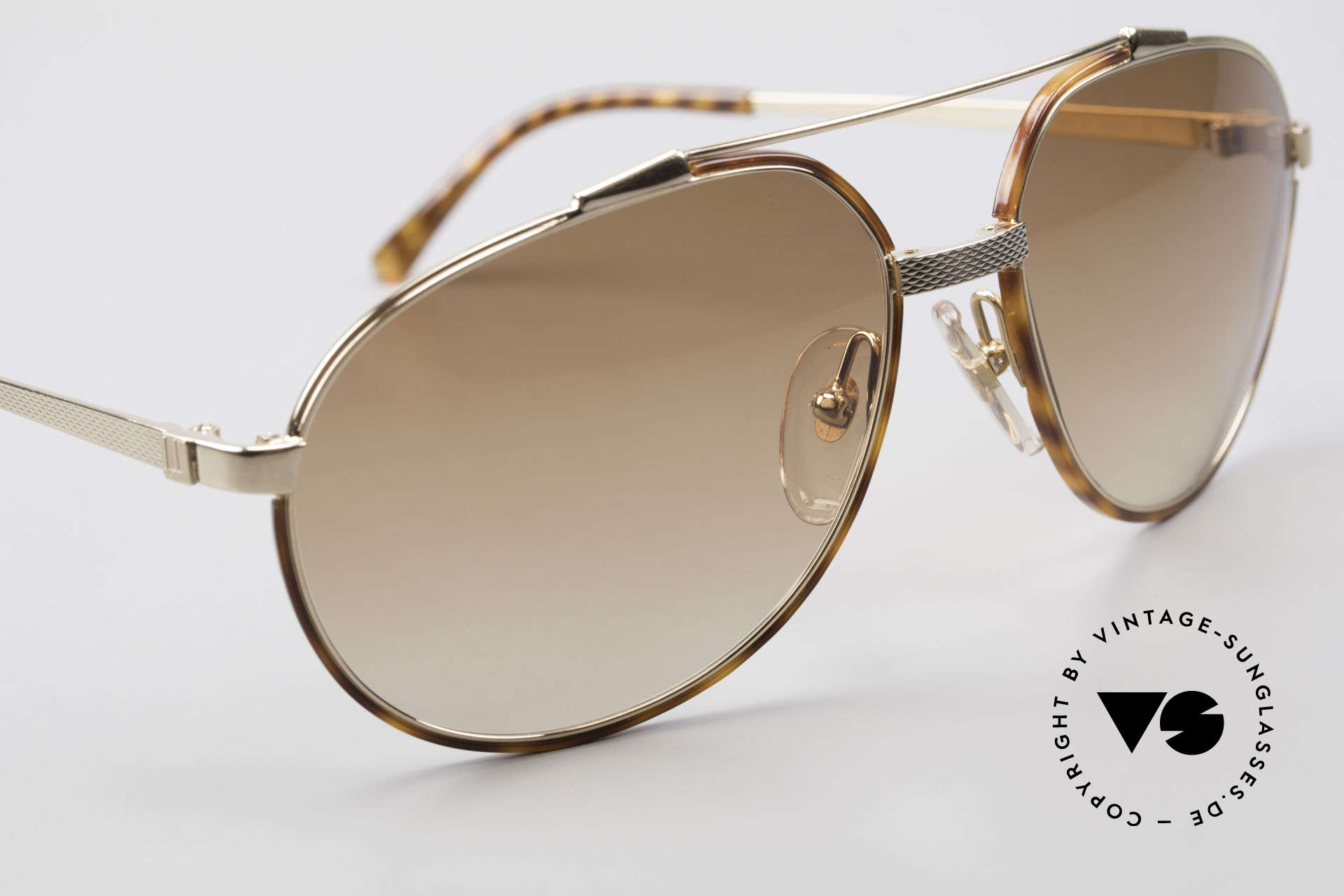 Dunhill 6174 Comfort Fit Luxury Sunglasses, unworn (like all our VINTAGE luxury sunglasses), Made for Men