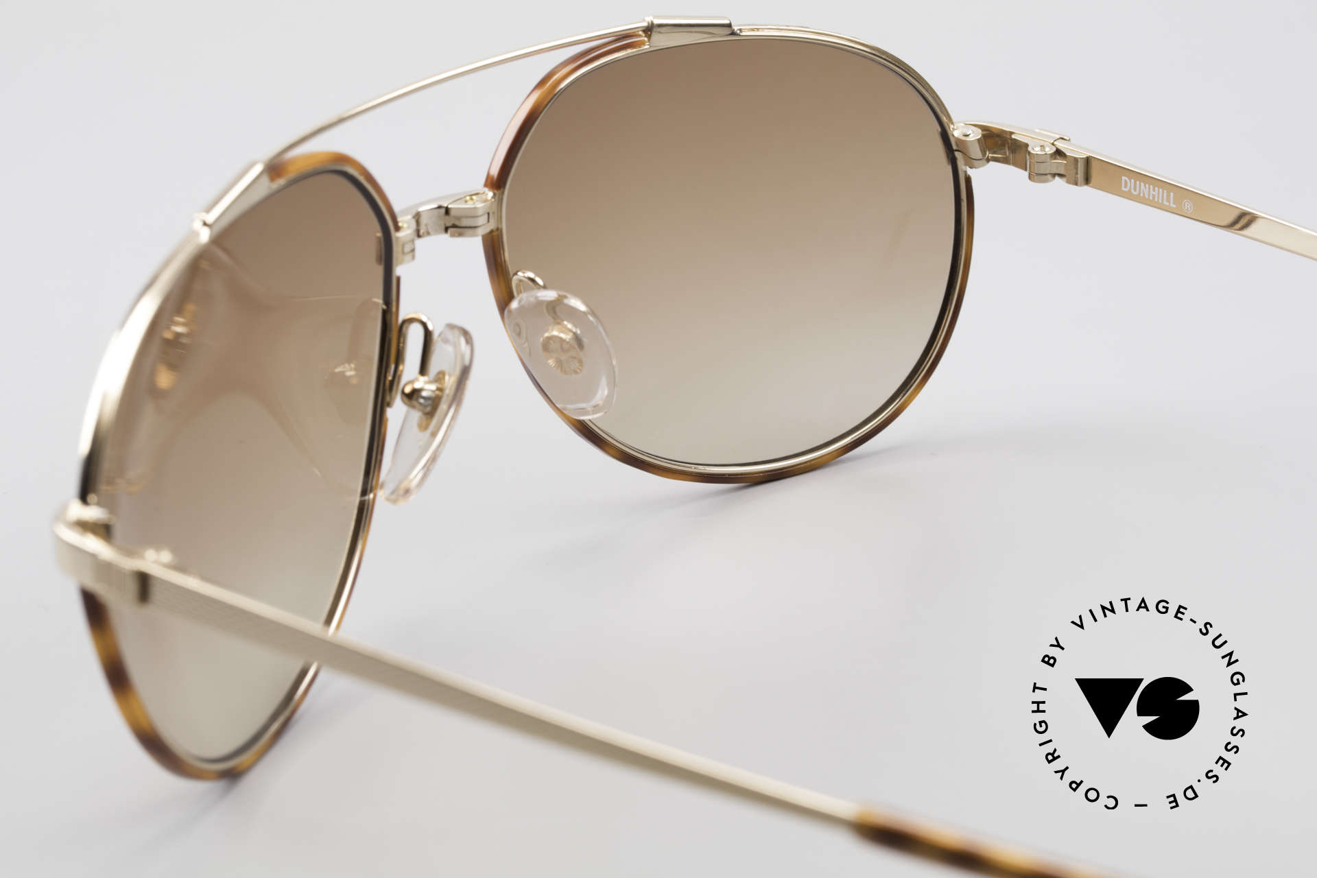 Dunhill 6174 Comfort Fit Luxury Sunglasses, NO RETRO, but a precious 30 years old ORIGINAL, Made for Men