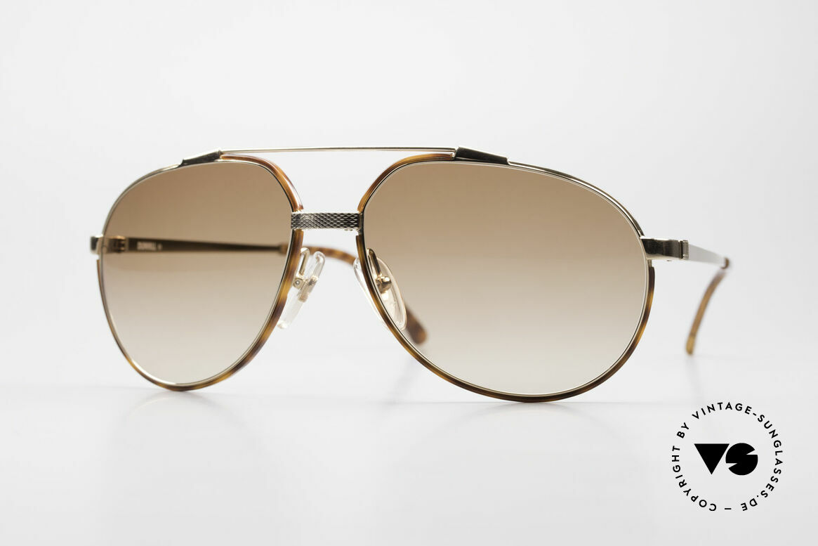 Dunhill 6174 Comfort Fit Luxury Sunglasses, brilliant Comfort-Fit: hinges joint on the bridge, Made for Men
