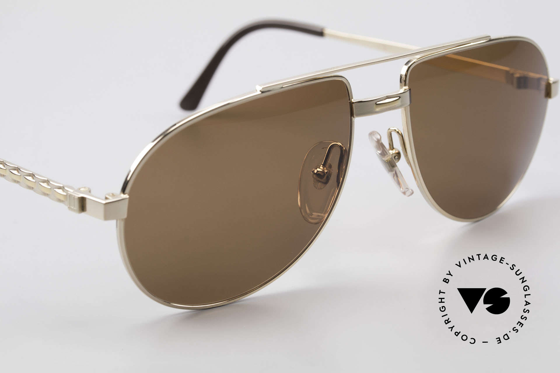 Dunhill 6147 90's Luxury Aviator Sunglasses, new old stock (like all our vintage luxury sunglases), Made for Men