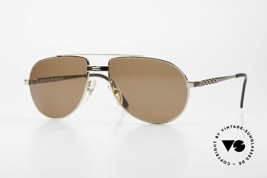 Dunhill 6147 90's Luxury Aviator Sunglasses Details