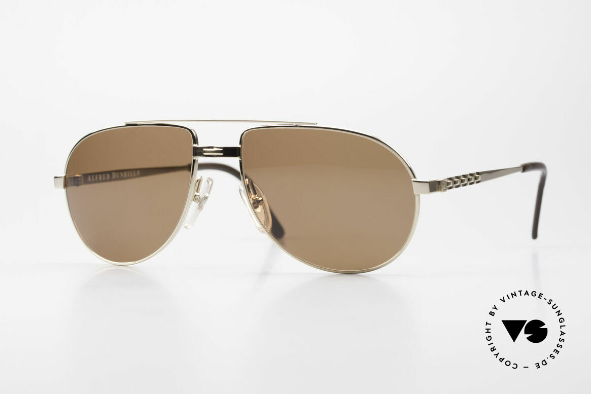 Dunhill 6147 90's Luxury Aviator Sunglasses, ALFRED DUNHILL = synonymous with English style, Made for Men
