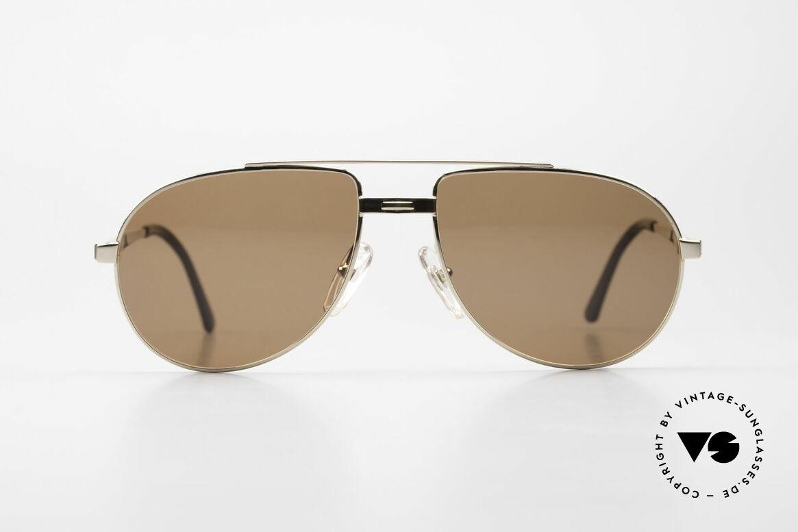 Dunhill 6147 90's Luxury Aviator Sunglasses, noble men's aviator sunglasses by Dunhill from 1992, Made for Men