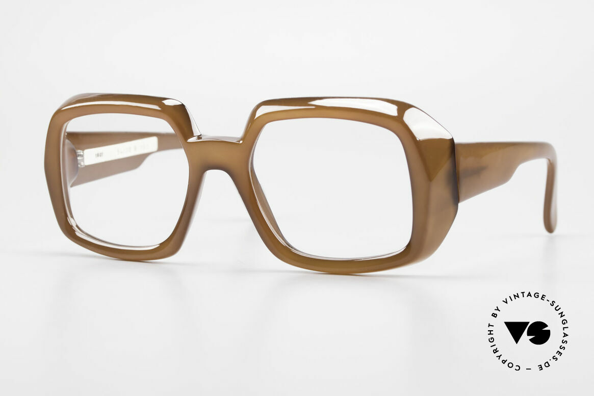 ViennaLine Royal 1601 Goliath Monster Frame 70's, incredible vintage old school eyeglasses by ViennaLine, Made for Men