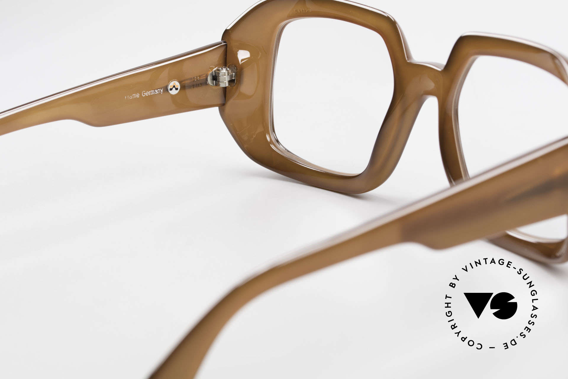 ViennaLine Royal 1601 Goliath Monster Frame 70's, similar to the Ultra GOLIATH glasses (R. de Niro, Casino), Made for Men