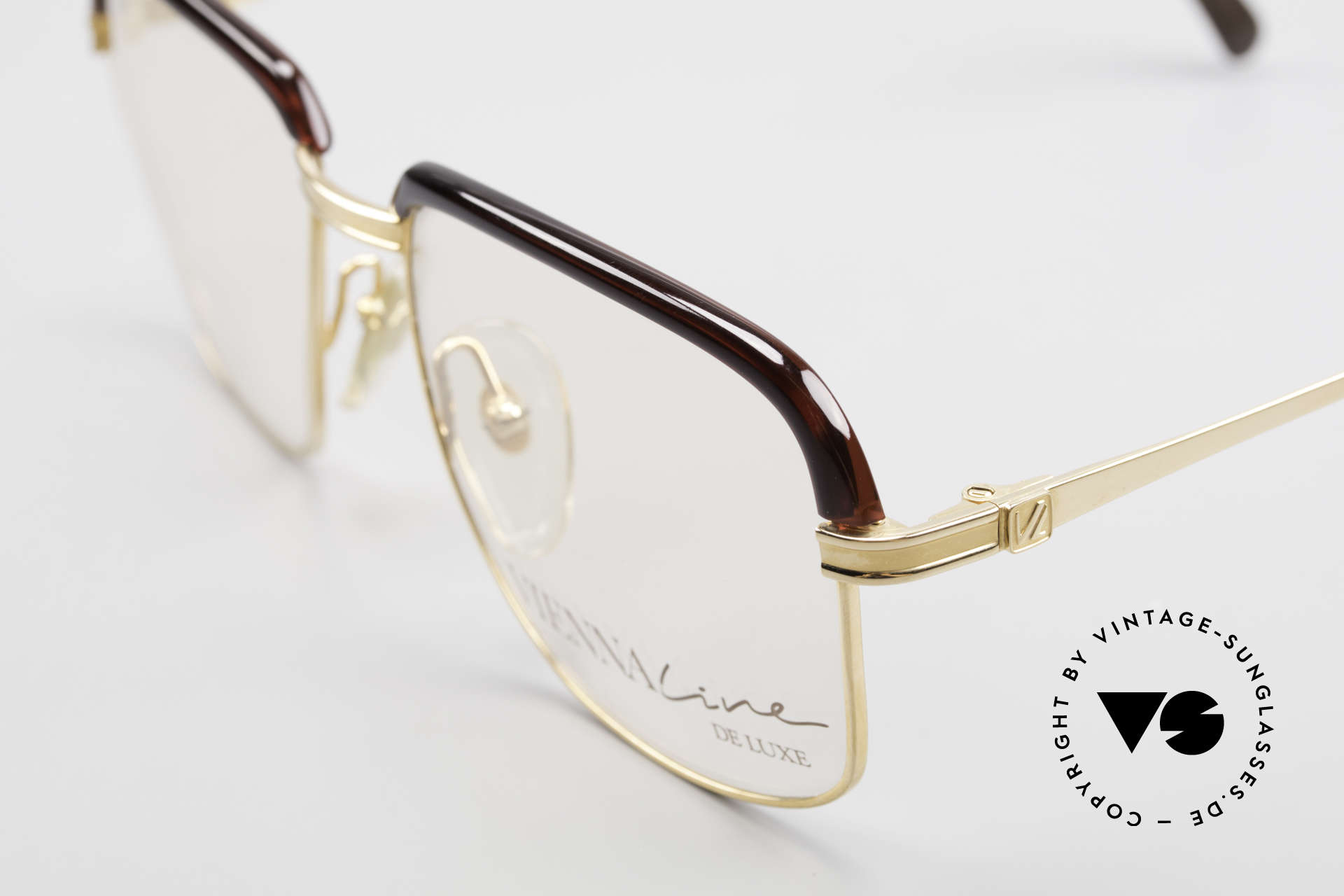 Vienna Line True 70's Men's Combi Frame, GOLD-PLATED frame (a matter of course, back then), Made for Men