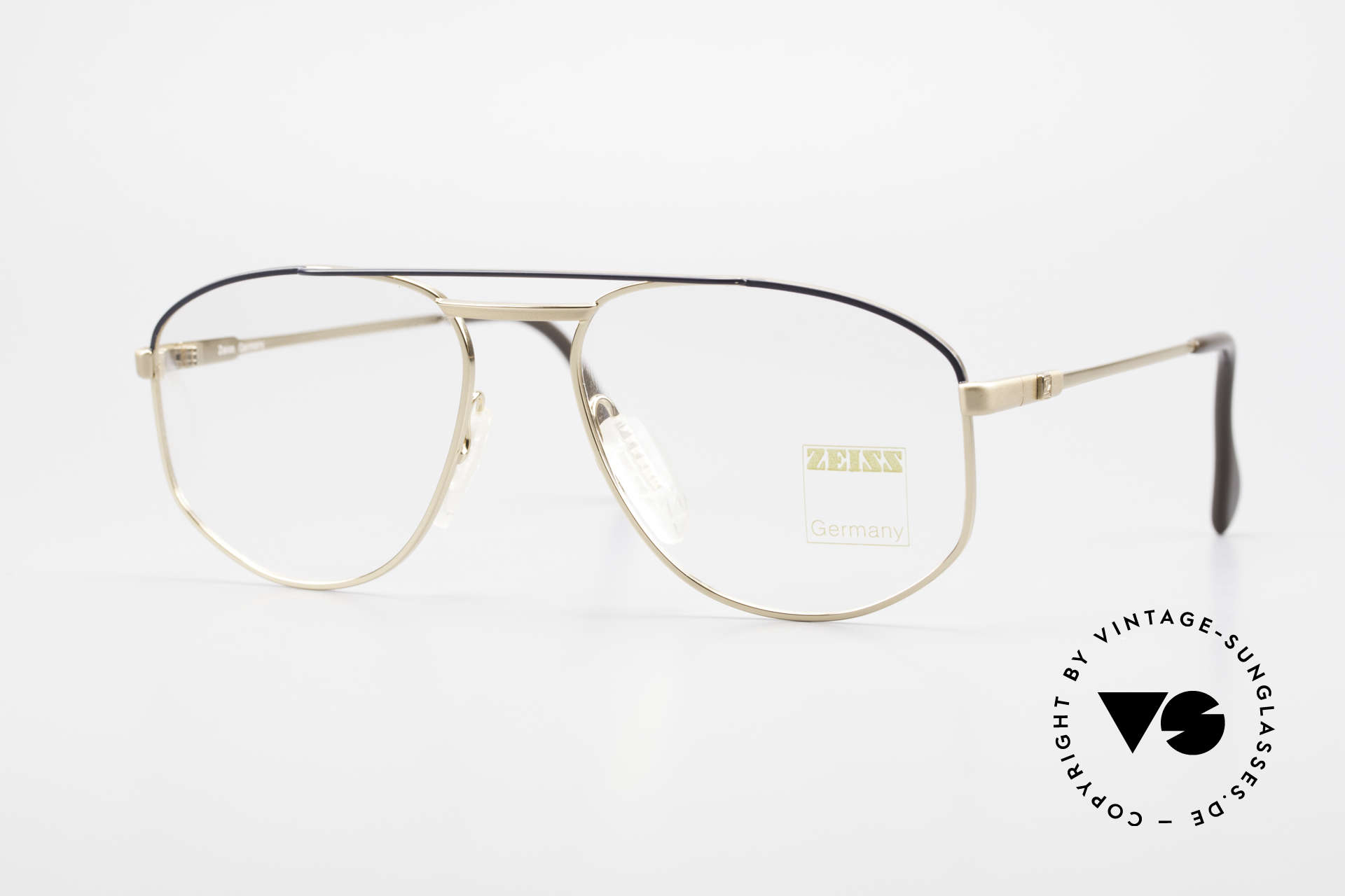 Zeiss 5923 Rare Old 90's Eyeglass-Frame, sturdy vintage eyeglass-frame by Zeiss from app. 1990, Made for Men