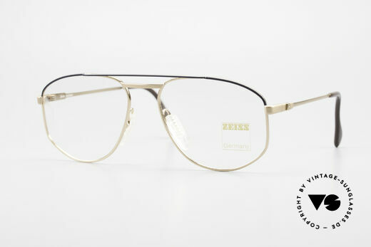 Zeiss 5923 Rare Old 90's Eyeglass-Frame Details