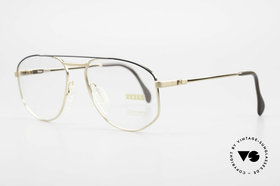 Zeiss 5923 Rare Old 90's Eyeglass-Frame, monolithic design .. built to last .. You must feel this!, Made for Men