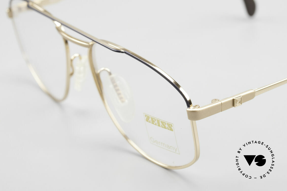 Zeiss 5923 Rare Old 90's Eyeglass-Frame, unworn (like all our high-end Zeiss vintage eyeglasses), Made for Men