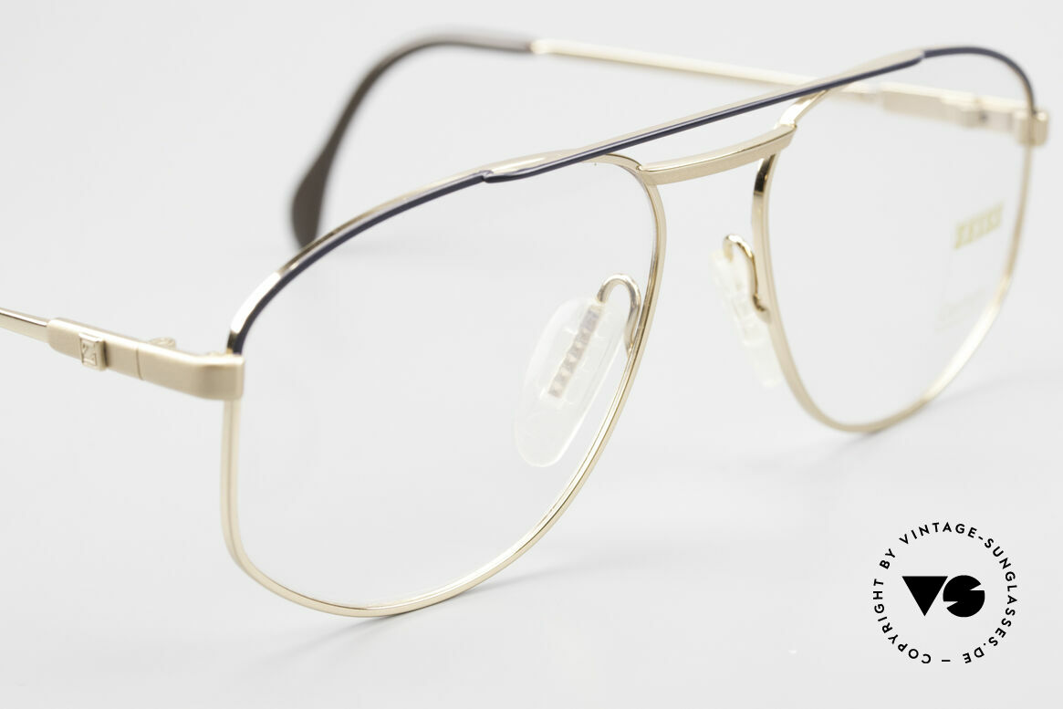 Zeiss 5923 Rare Old 90's Eyeglass-Frame, NO RETRO glasses, but a genuine 30 years old original, Made for Men