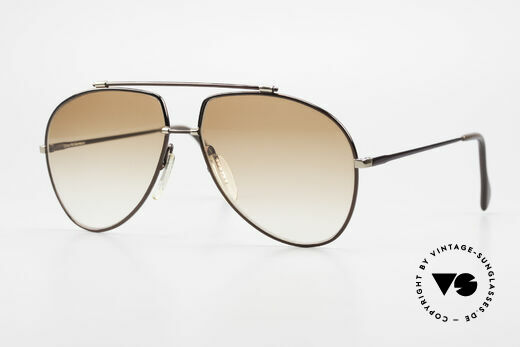 Zeiss 9371 Old 80's Aviator Sunglasses Details