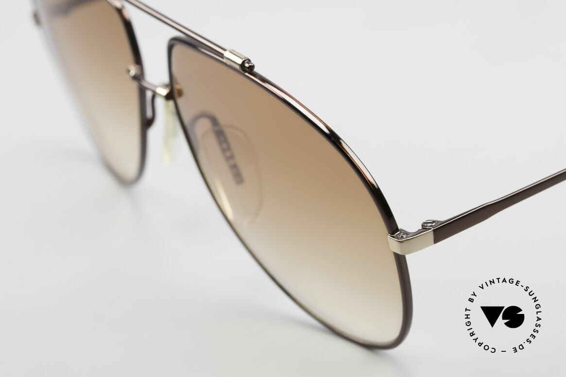 Zeiss 9371 Old 80's Aviator Sunglasses, unworn NOS (like all our rare vintage Zeiss sunglasses), Made for Men