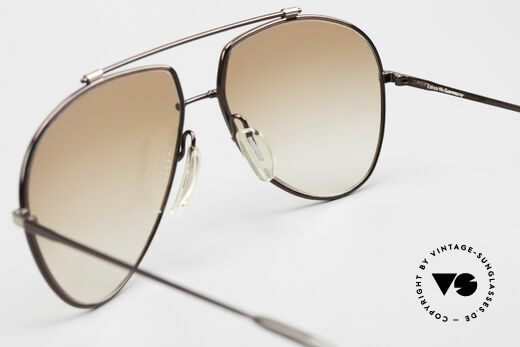 Zeiss 9371 Old 80's Aviator Sunglasses, plastic sun lenses could be replaced with prescriptions, Made for Men