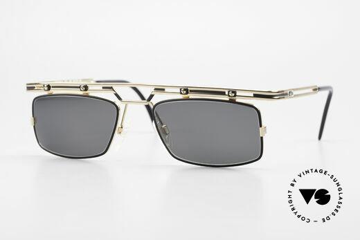 Cazal 975 Square Vintage Sunglasses 90's Details