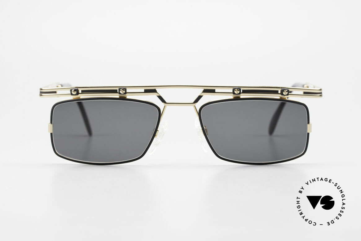 Cazal 975 Square Vintage Sunglasses 90's, designer sunglasses by CAri ZALloni = Mr. CAZAL, Made for Men