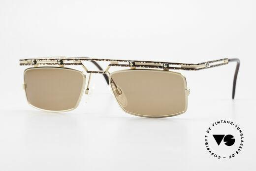Cazal 975 Square Designer Sunglasses 90s Details