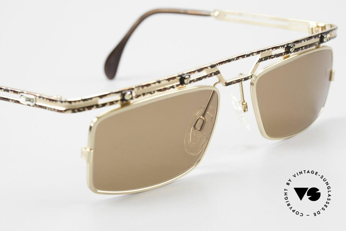 Cazal 975 Square Designer Sunglasses 90s, never used (like all our rare vintage CAZAL eyewear), Made for Men