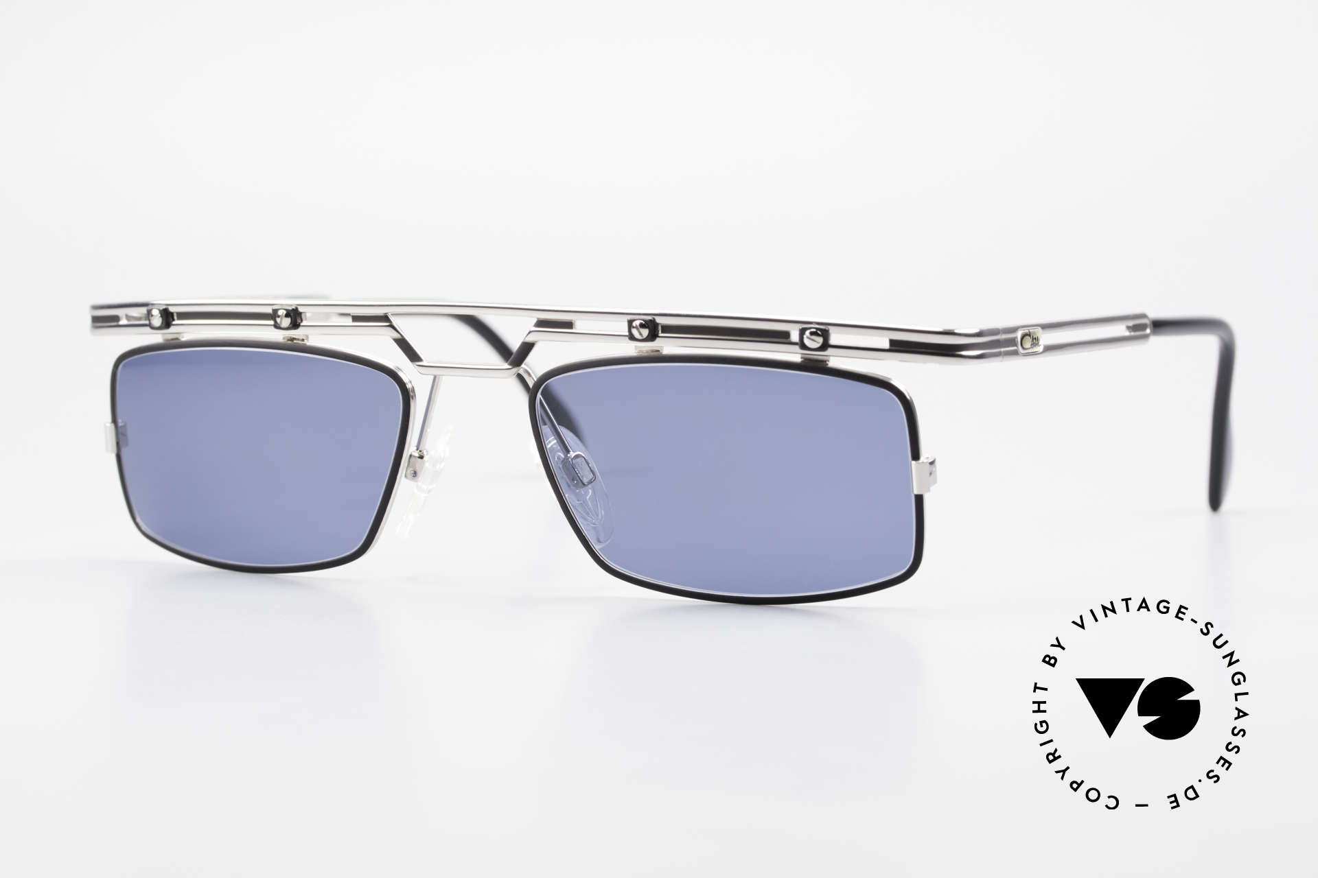 Cazal 975 Square Cazal Sunglasses 90's, striking / square Cazal vintage shades from 1996/97, Made for Men