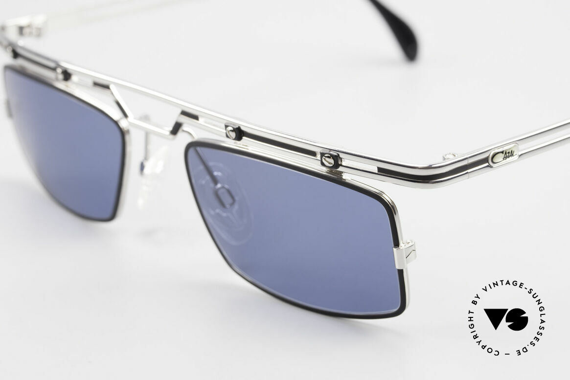 Cazal 975 Square Cazal Sunglasses 90's, tangible superior crafting quality (made in Germany), Made for Men
