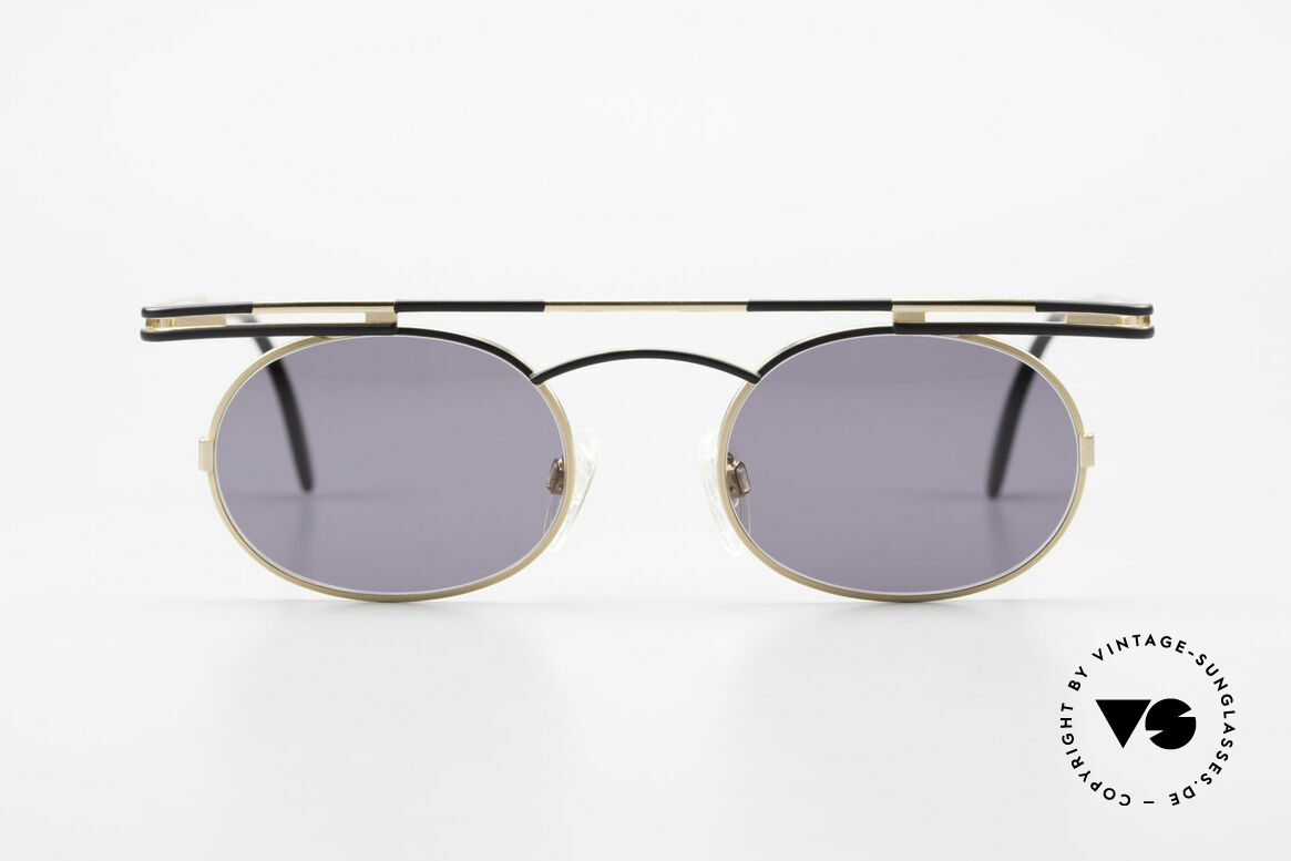 Cazal 761 Vintage Cazal Sunglasses 90's, angular & round at the same time; a real eye-catcher, Made for Men and Women