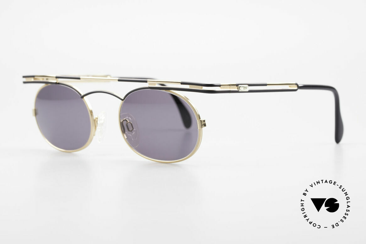 Cazal 761 Vintage Cazal Sunglasses 90's, top-notch craftsmanship (frame 'made in Germany'), Made for Men and Women