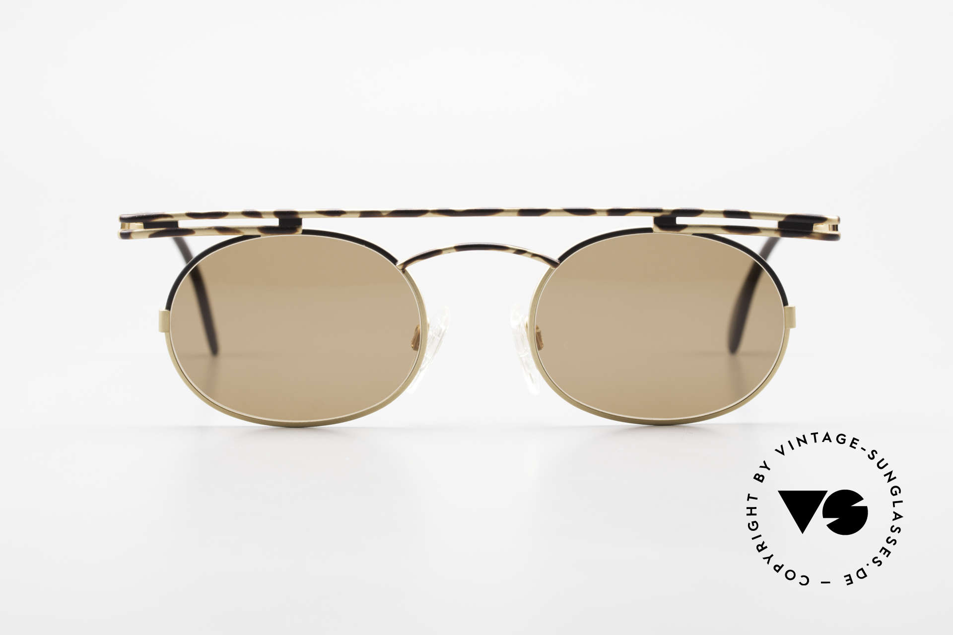 Cazal 761 Rare Old Cazal 90's Sunglasses, angular & round at the same time; a real eye-catcher, Made for Men and Women