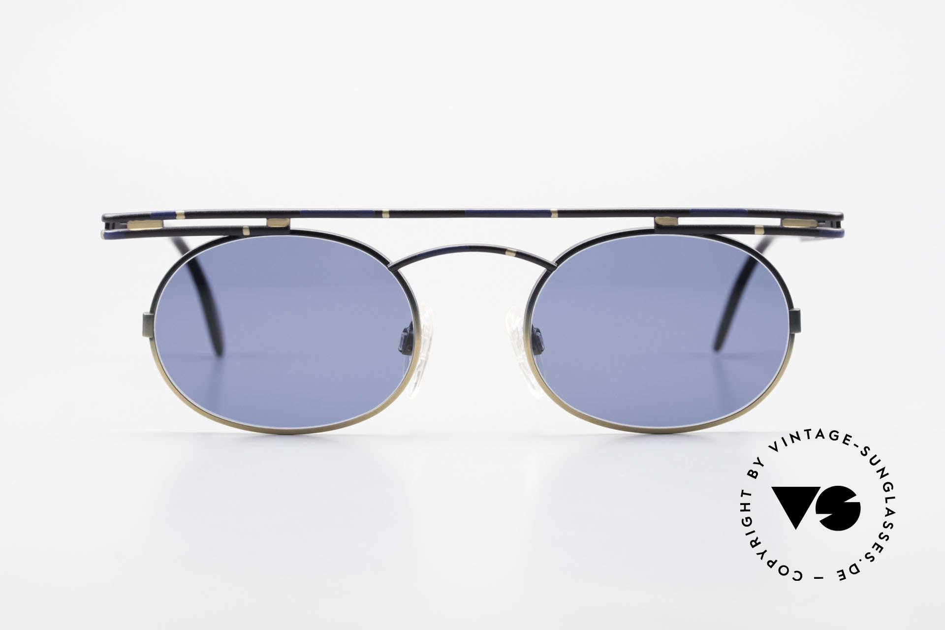Cazal 761 Original Old Cazal Sunglasses, angular & round at the same time; a real eye-catcher, Made for Men and Women
